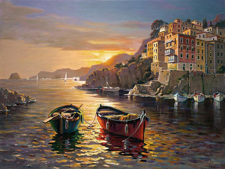 Bob Pejman - Cinque Terre Sunset