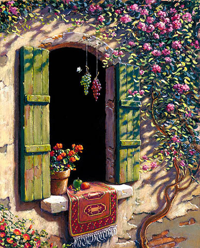 Bob Pejman's Tuscany Window